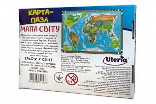 Карта-пазл «Мапа світу» фото 6