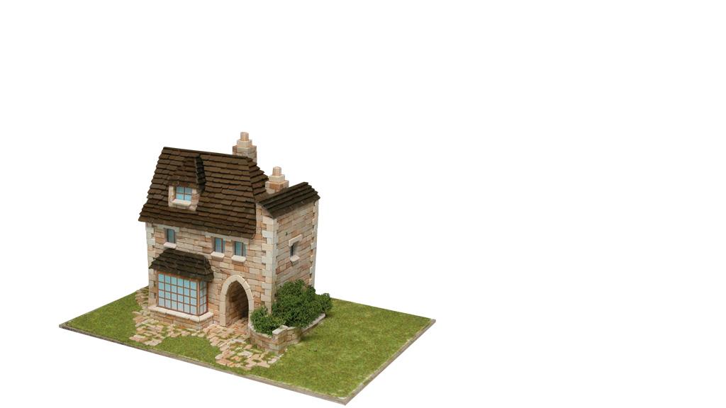 Керамический макет «Английский дом»
