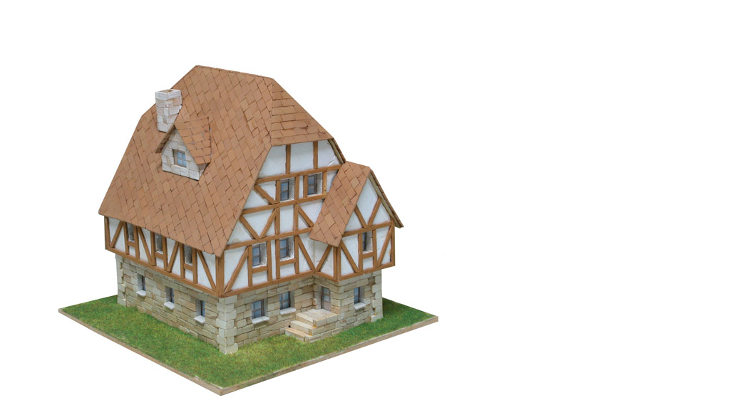 Керамический макет «Немецкий дом»