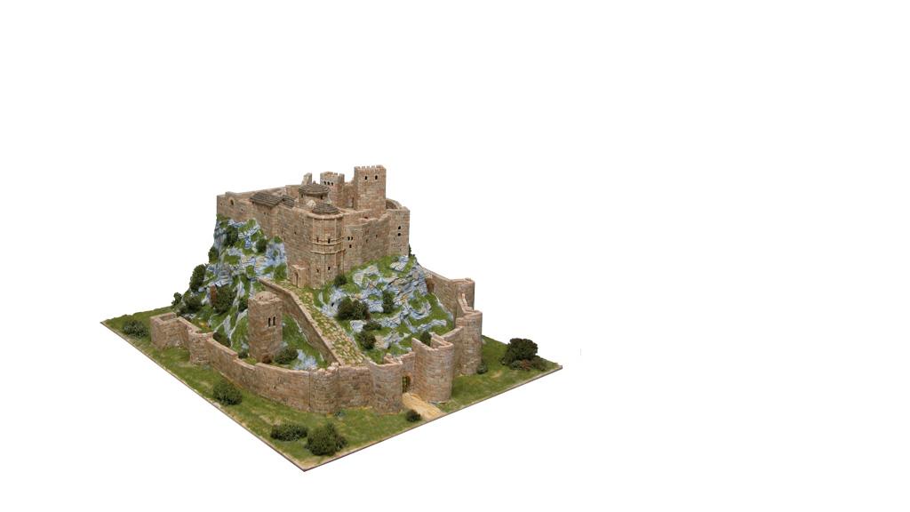 Керамический макет «Замок Лоарре»