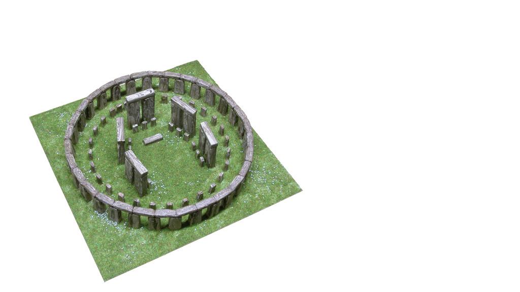 Керамічний макет «Стоунхендж»