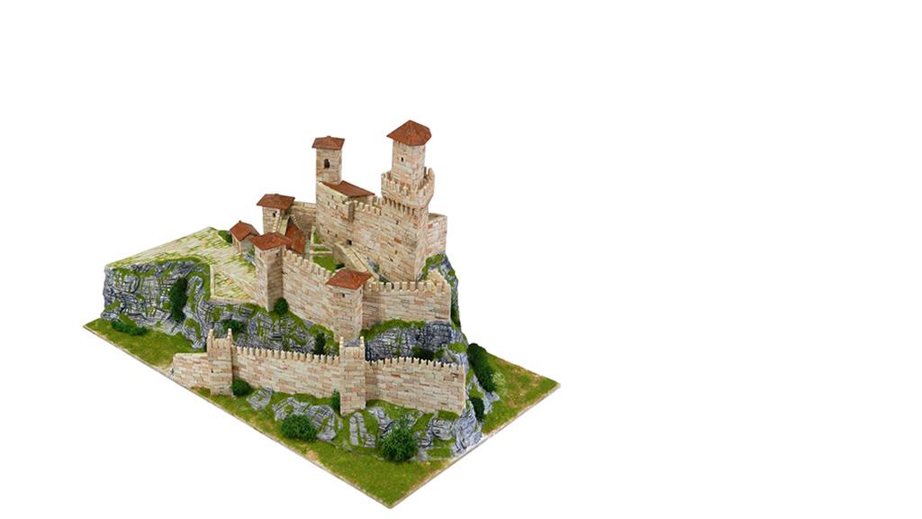 Керамический макет башни «Гуаита Прима-Торре»