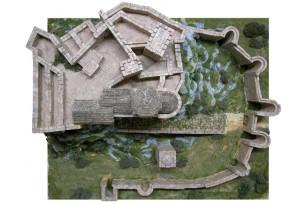 Керамический макет «Замок Лоарре» фото 4