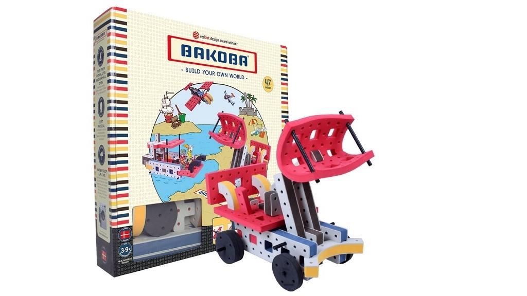 М'який конструктор BAKOBA 47 деталей 12в1 (200-05)