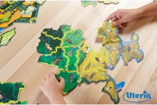 Карта-пазл «Флора и фауна Украины» фото 7