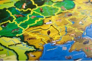 Карта-пазл «Флора и фауна Украины» фото 9