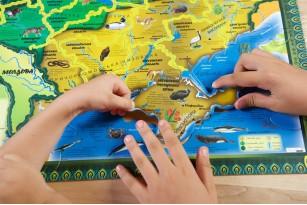 Карта-пазл «Флора и фауна Украины» фото 10
