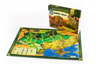 Карта-пазл «Флора і фауна України» фото 1