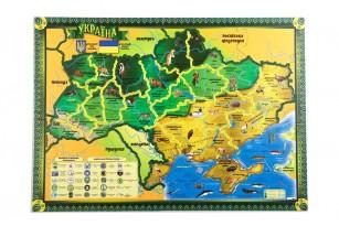 Карта-пазл «Флора и фауна Украины» фото 2