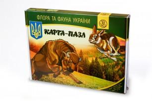 Карта-пазл «Флора и фауна Украины» фото 3
