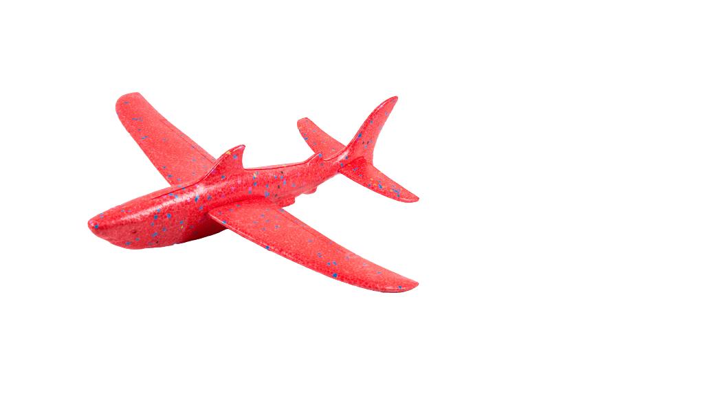 """Метальний планер-літак з пінопласту """"Акула"""""""