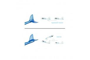 Метальний планер-літак з пінопласту фото 9