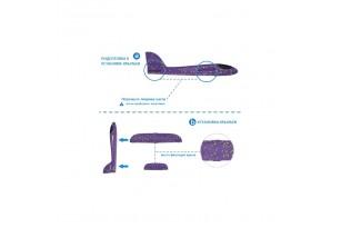 Метальний планер-літак з пінопласту фото 8