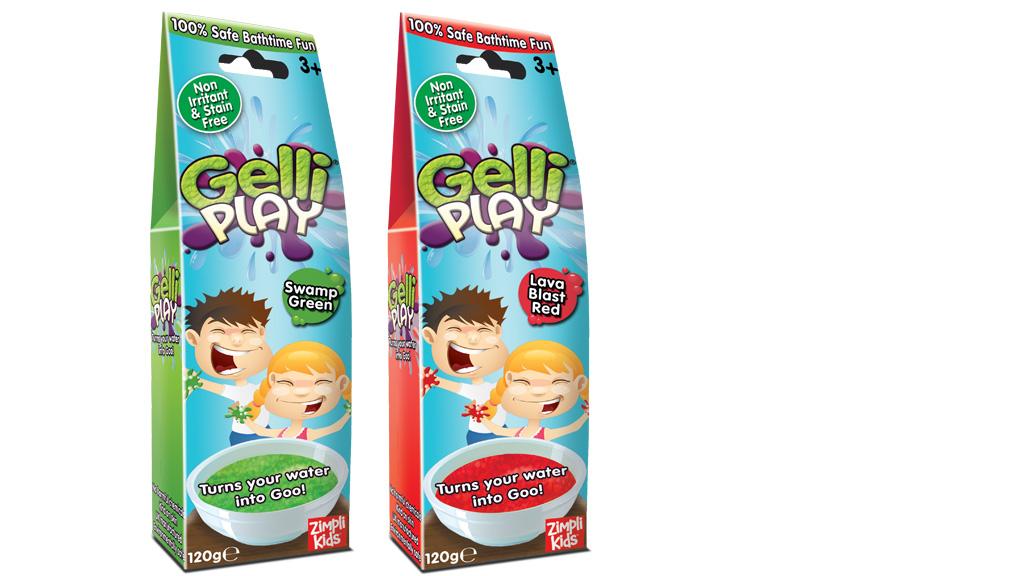 Гель снег для игр Gelli Play снег 120 г