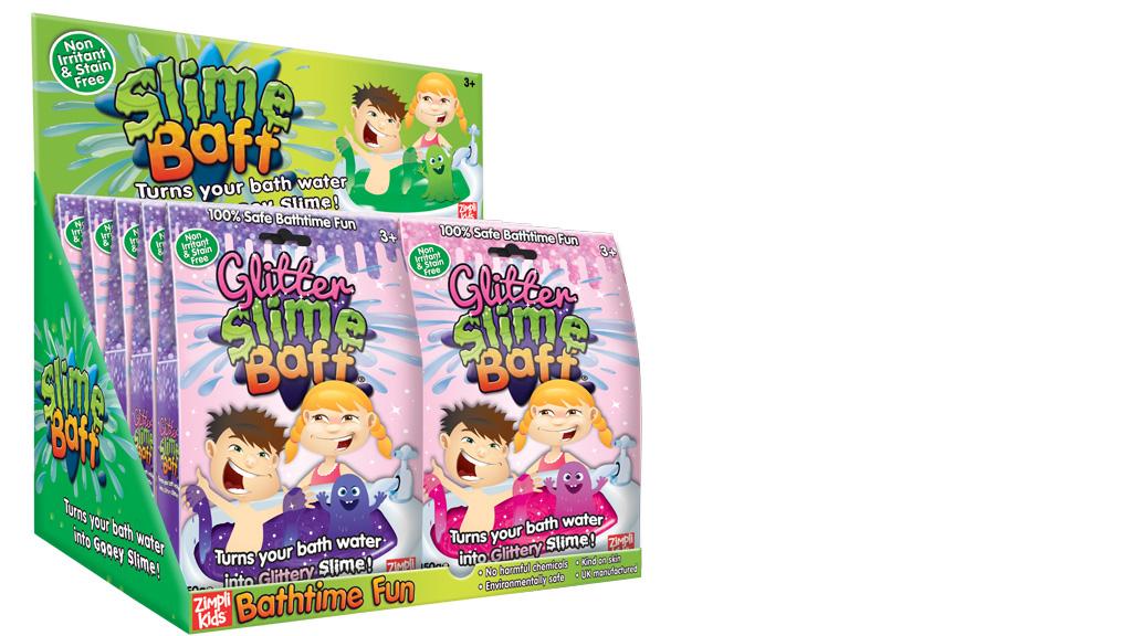 Слизь для ванной Glitter Slime Baff с блёстками 150 г