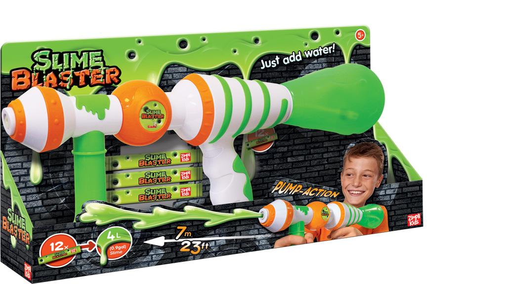 Бластер, стреляющий слизью (Slime Blaster)