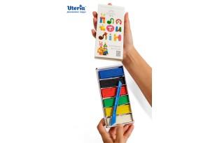 Пластилін дитячий «Gearsy Art», набір із 6 кольорів фото 4