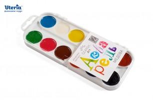 Фарби акварельні медові «Gearsy Art», набір із 12 кольорів