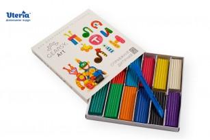 Пластилін дитячий «GEARSY ART», набір із 12 кольорів фото 3