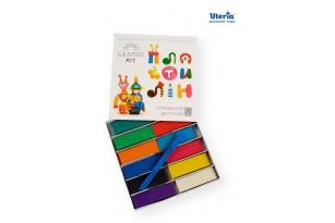 Пластилин детский «Gearsy Art», набор из 12 цветов фото 4