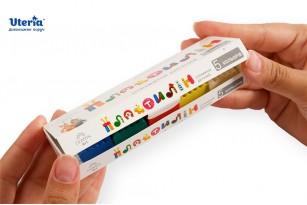 Пластилін дитячий «Gearsy Art», набір із 5 кольорів фото 2