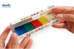 Пластилін дитячий «Gearsy Art», набір із 5 кольорів фото 3