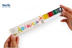 Фарби акварельні медові «Gearsy Art», набір із 6 кольорів фото 3