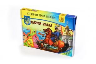 Карта-пазл «Историческая карта Украины» фото 3