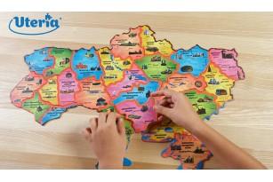 Карта-пазл «Историческая карта Украины» фото 13