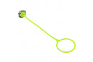 Скакалка на одну ногу з LED роликом фото 3