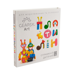 Пластилин «Gearsy Art» набор из 12 цветов