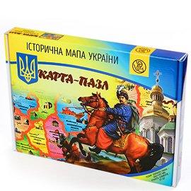Историческая карта Украины