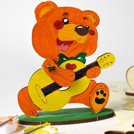 Розмальовка Ведмедик