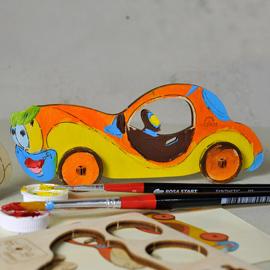 Розмальовка Автомобіль